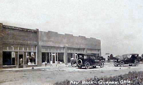 Buildings At Quapaw Oklahoma
